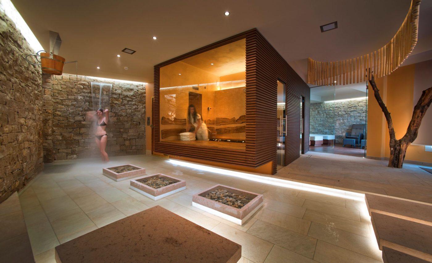 Garantire igiene e sicurezza in hotel oggi è fondamentale. Nella foto, uno scorcio di una Spa