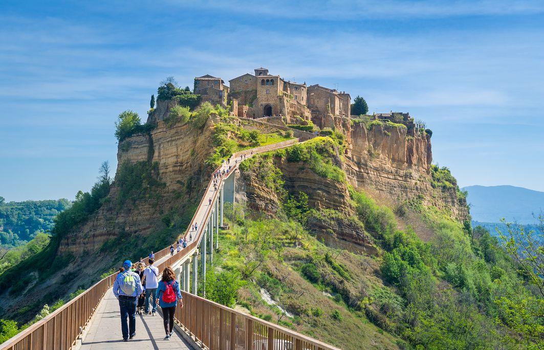 Turismo: Civita di Bagnoregio, splendido borgo medievale in provincia di Viterbo
